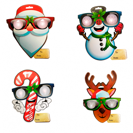 EyePop 3D Holiday Gift Tags - Mixed Pack