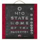 College Eye Chart Plaque