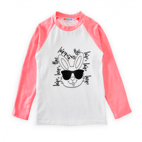 Rabbit with Glasses Long-Sleeve Shirt