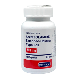 Acetazolamide 500 mg (Extended Release)