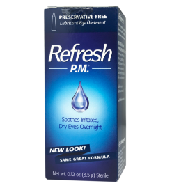 Refresh P.M.® Lubricant Eye Ointment