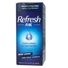 Refresh P.M.® Lubricant Eye Ointment