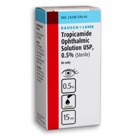 Tropicamide 0.5%