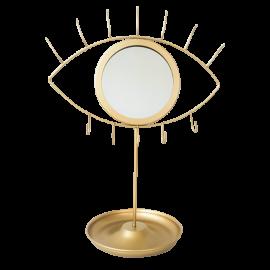Mirrored Eye Jewelry Holder