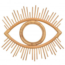 Rattan Eye Wall Hanging
