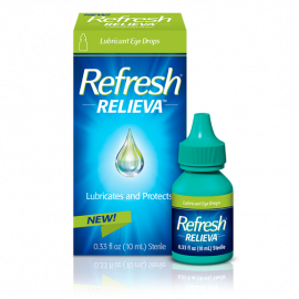 Refresh Relieva™️ Lubricant Eye Drops - Exp. 10/21