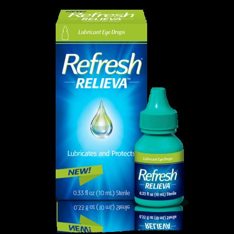 Refresh® Relieva Lubricant Eye Drops