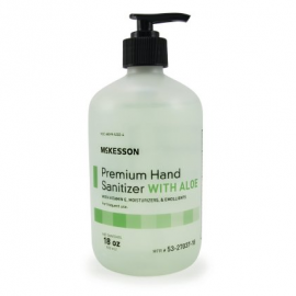 McKesson Premium Hand Sanitizer Gel with Aloe 18oz