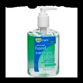 Sunmark® Advanced Hand Sanitizer with Aloe 8 oz.