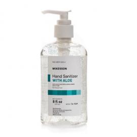 McKesson Hand Sanitizer Gel with Aloe 8oz