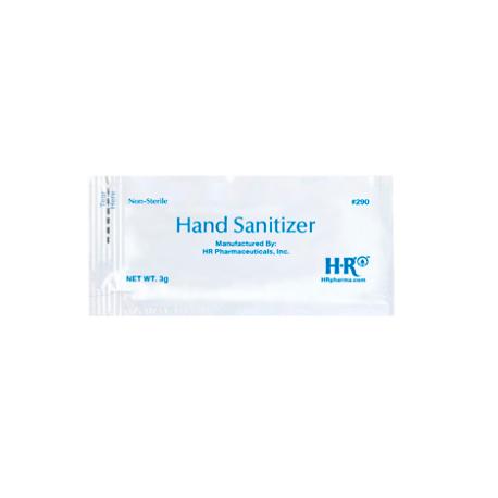 HR® Hand Sanitizer Portable 3g Packet