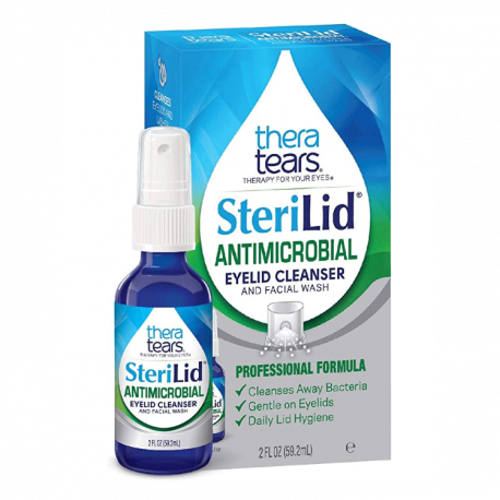 TheraTears® SteriLid® Antimicrobial Eyelid Cleanser