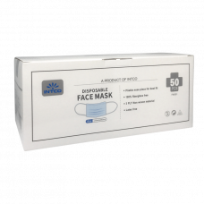 Intco Disposable Ear-Loop Face Mask - 3-Ply