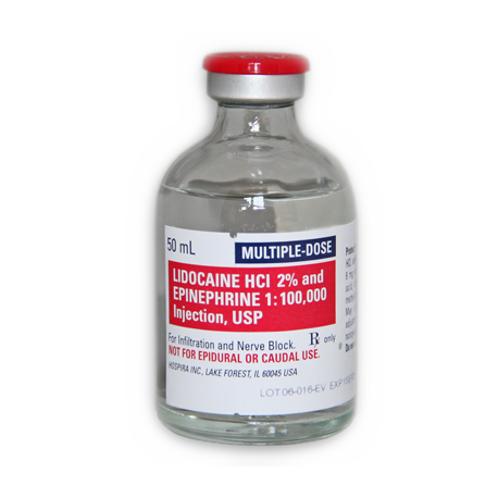 Lidocaine HCl 2% w/ Epinephrine Injection