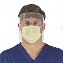 Halyard Fog-Resistant, Disposable Face Shield