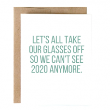 Can't See 2020 Greeting Card