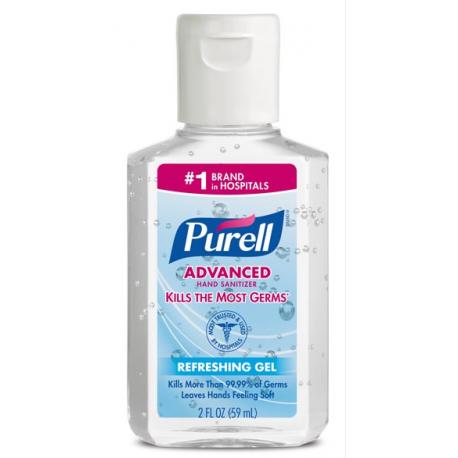 Purell® Instant Hand Sanitizer - 2 oz Flip-Cap Bottle