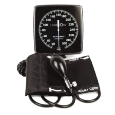 McKesson Lumeon® Wall Mounted Blood Pressure Unit with Adult Cuff & Clock