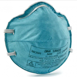 3M™ Health Care Particulate Respirator and Surgical Mask, Small, N95 20/Box