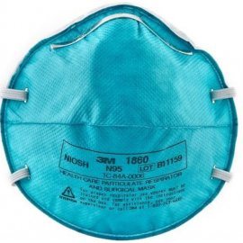3M™ N95 Health Care Particulate Respirator and Surgical Mask, 20/Box