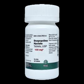 Doxycycline Hyclate 100 mg