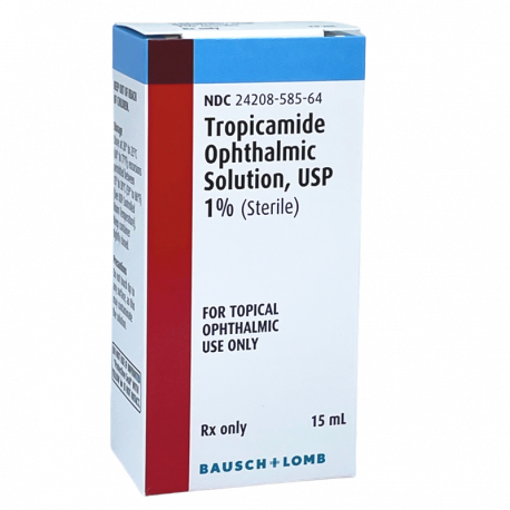 Tropicamide 1%