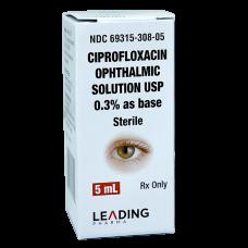 Ciprofloxacin 0.3% Solution