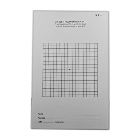 Amsler Grid Recording Sheets