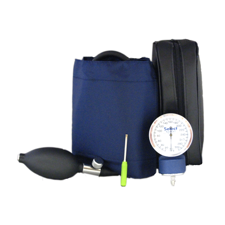 McKesson Lumeon® Deluxe Adjustable Hand-Held Blood Pressure Unit