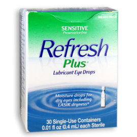 Refresh Plus® Lubricant Eye Drops