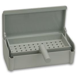 Self-Straining Instrument Soaking Tray