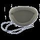 Black Eye Shield with Band & Foam