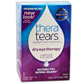TheraTears® Lubricant Eye Drops Single-Use Units - Exp 4/18