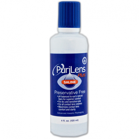 PuriLens Plus Saline Solution
