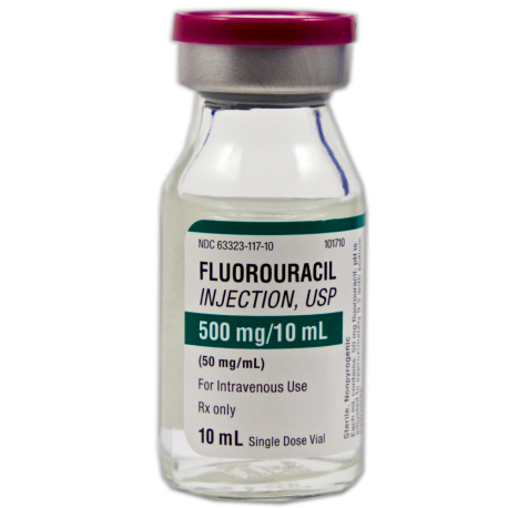 Fluorouracil Inj 50 mg/mL SDV
