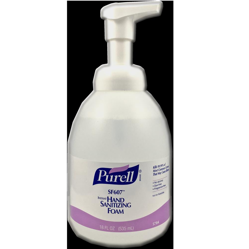 purell alcohol free foam hand sanitizer sigma pharmaceuticals
