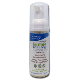 Advanced Formula 2% Tea Tree Eyelid & Facial Cleanser
