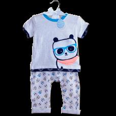 Panda-Riffic Two-Piece Outfit