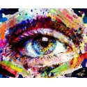 Spark Eye Art - Dark - Print