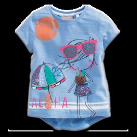 Little Girl Aloha Sunglasses Tee