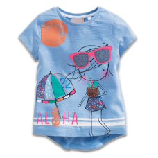 Little Girl Aloha Sunglasses Tee
