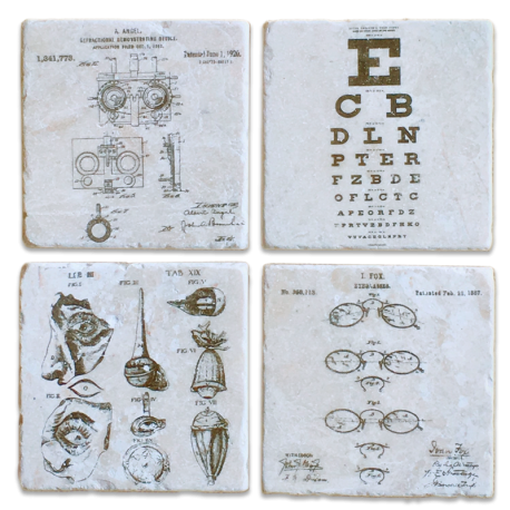 Ophthalmic Coasters