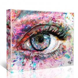 Spark Eye Art - Light - Canvas