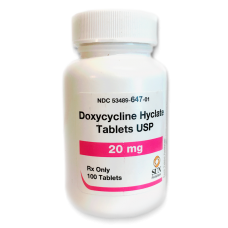 Doxycycline 20 mg