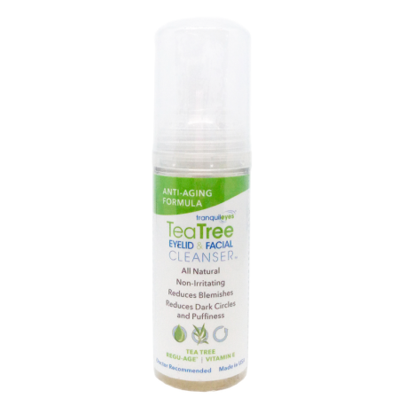 Anti-Aging 1% Tea Tree Eyelid & Facial Cleanser