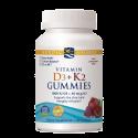 Nordic Naturals Vitamin D3+K2 Gummies