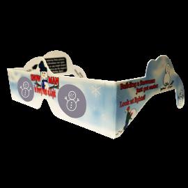 Snowman 3D Glasses