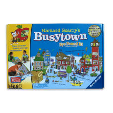 Richard Scary's Busytown Eye Found It! Hidden Picture Board Game