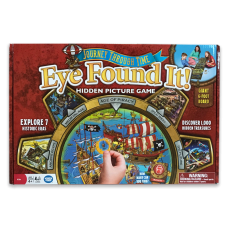 Journey Through Time Eye Found It! Hidden Picture Board Game