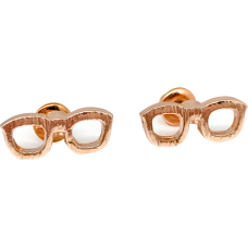 Glasses Stud Fashion Earrings